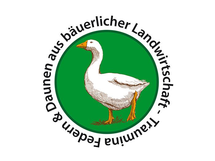 Zudecke Traumina Bio Gänse-Label